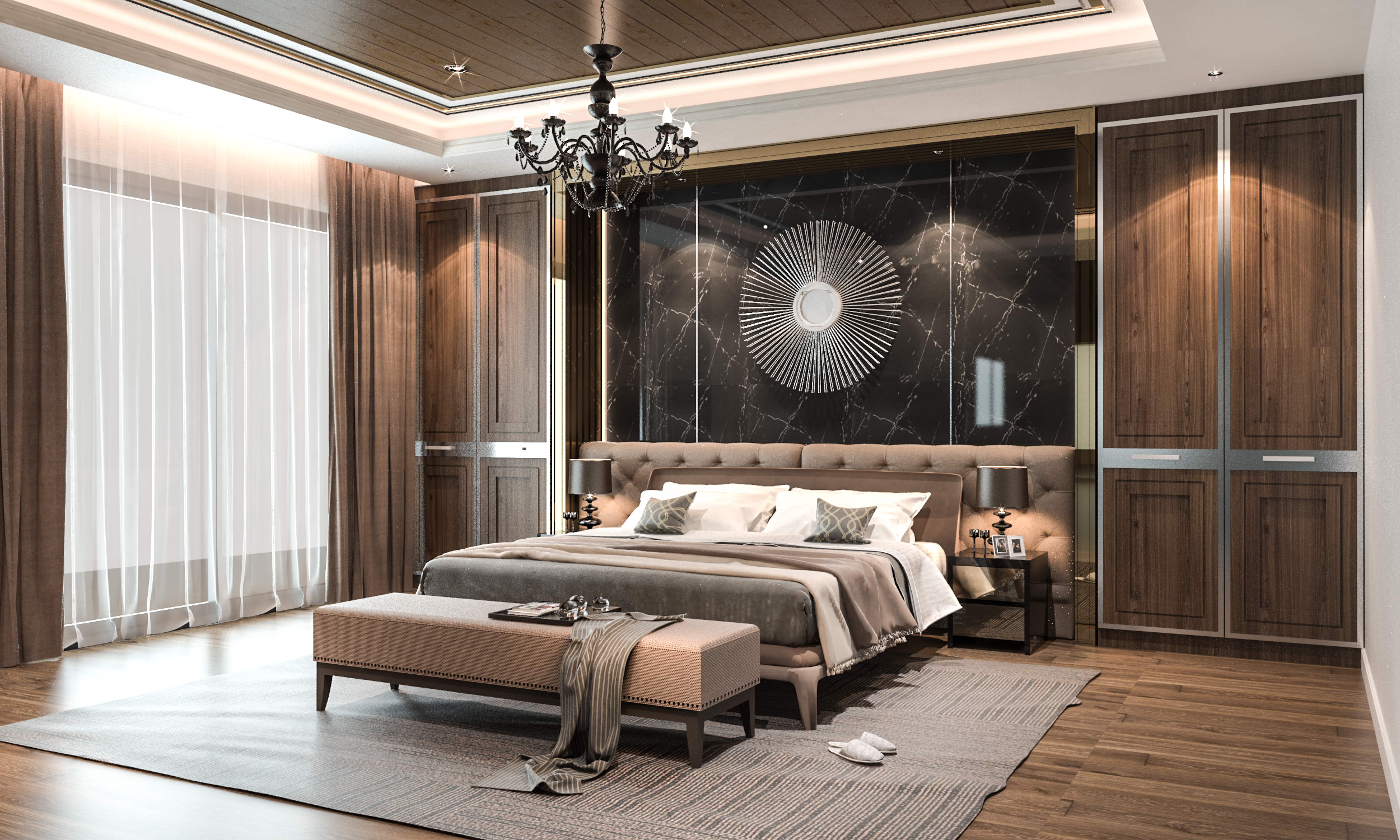 Luxurious Bed Room Design