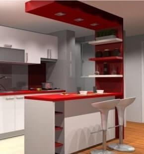 Breakfast Counter Interior Designers
