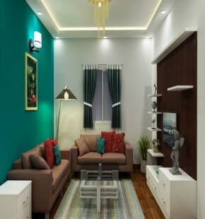 Living Room Color Theme Designs