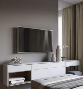Bedroom TV Unit Designers